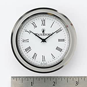 Waterford Clock Face Insert, Large Round, Roman Numerals - Waterford Clock - Replacement Clock Face - Waterford
