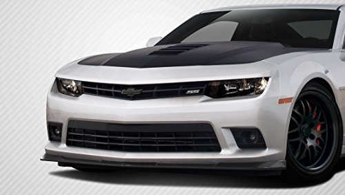 Gmx Front Lip Spoiler - Carbon Creations ED-EIL-256 GM-X Front Lip Under Air Dam Spoiler - 1 Piece Body Kit - Compatible For Chevrolet Camaro 2014-2015