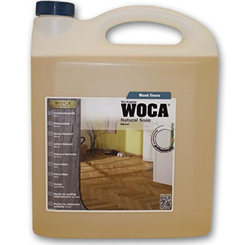 Woca Soap, Natural CONCENTRATE, 5 Liter for routine maintenance