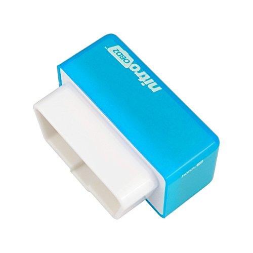 Alamor Eco Obd2 /Économie Chip Tuning Box Diesel Blue Power Fuel Optimization Device
