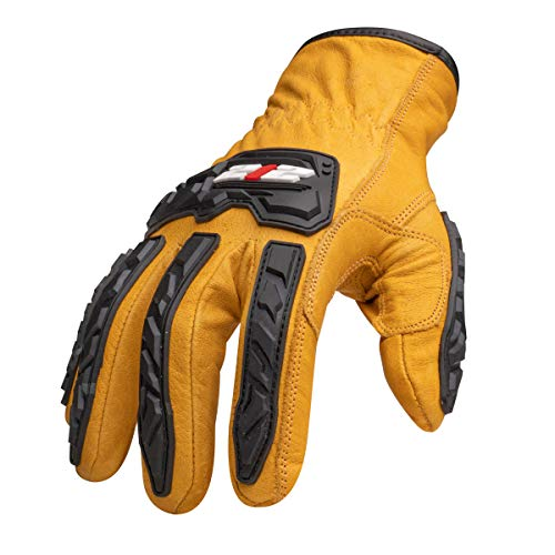 212 Performance IMPLDC5-90-008 Cut Resistant Impact Leather Driver Gloves (EN Level 5)/Medium