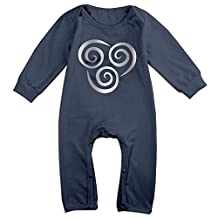 Avatar The Last Airbender Symbol Platinum Style Baby Boys' Romper Jumpsuit Outfits