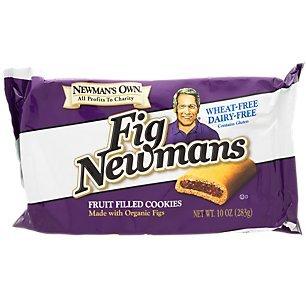Newmans Own Organic Anic Cookie Fig Bar Wheat Free DF, 10 lb