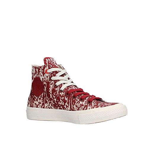 Hi buff Star Sneaker Taylor Red Adulte Leather Unisex All Block Converse Chuck Mono xwaq70w1p