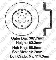-Combo Brake Kit 8 Ceramic Pads 4 Black Zinc Plated Drilled Disc Rotors 5lug F+R Full Kit
