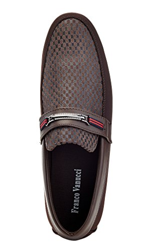 Shoes Franco Roberto Brown Driving Mens Vanucci 19 RxwTqv0t