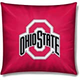 The Northwest Company NCAA Ohio State Buckeyes Official 15'' Toss Pillow