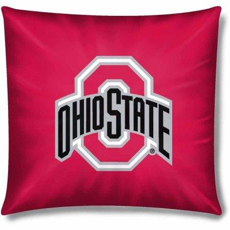 The Northwest Company NCAA Ohio State Buckeyes Official 15'' Toss Pillow by The Northwest Company