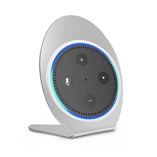 innelo Stand Holder for Echo Dot, Aluminium Alloy Bracket for Amazon Echo Dot 2nd Generation Speaker