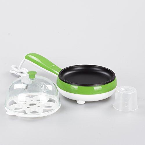 Hekitech Mini Electric Skillet Frying Pan Steam Eggs
