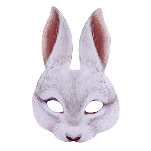 Fashion Police Halloween Edition (Children's Animal Critter Forest Half Mask Costume Accessory Mask Bunny Parties/Dances/Carnivals Halloween LIM&Shop)