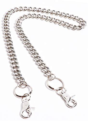 [해외]발레 타 실버 롱 지갑 체인 키 체인 액세서리 캐주얼 소품 스트리트 남성 / Valletta Silver Long Wallet Chain Keychain Accessories Casual Accessory Street Men`s