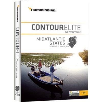 - Humminbird 600044-2 Contour Elite DVD Fishing PC Software - MI Atlantic States (MAR '17)