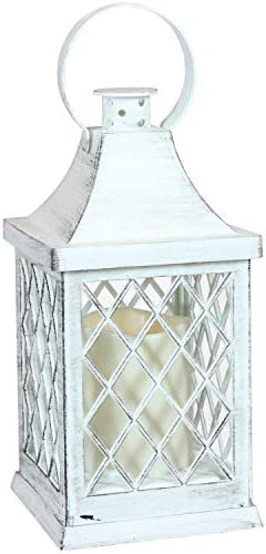 Sunnydaze Ligonier Indoor Decorative LED Candle Lantern