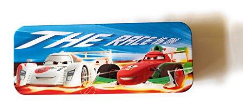 Disney Pixar Cars Tin Pencil Case (The Race Is On) ()