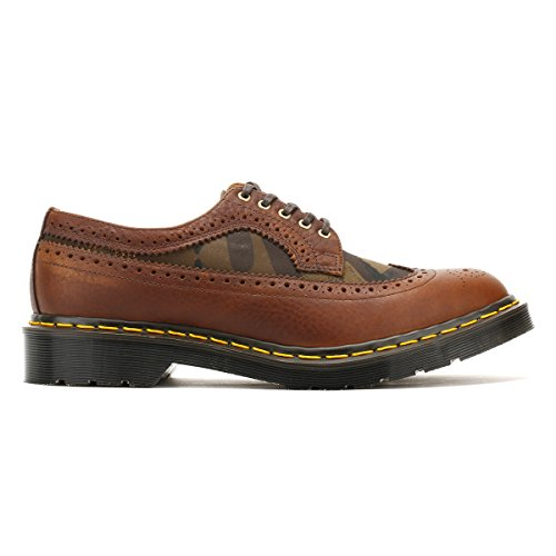 Dr. Martens Hommes Dark Marron Made in England 3989 Brogue Chaussures-UK 7