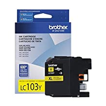 Brother LC103 High Yield Ink Cartridge - Yellow