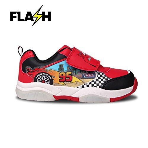 Character Wear , Jungen Sneaker mehrfarbig rot / schwarz