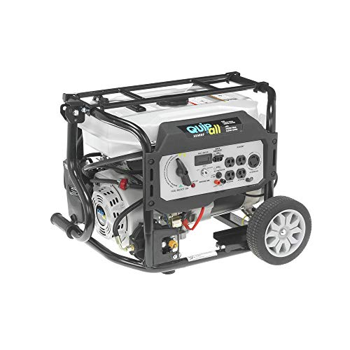 Quipall 5250DF Dual Fuel Gas Portable...
