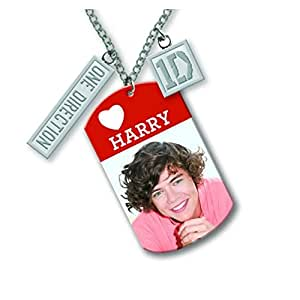 "Oficial One Direction (1D) 16 ""etiqueta collar - HARRY"