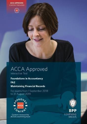 FIA Maintaining Financial Records FA2: Interactive Text