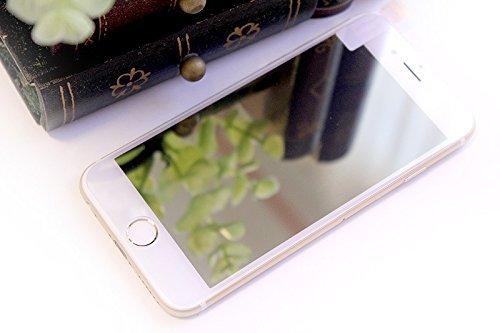 iPhone専用 強化ガラス マジックミラー 液晶保護 ガラス フィルム 0.33 (iPhone6/6s, イエローゴールド) [並行輸入品]