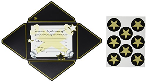 Awards Night Invitations & Seals   (8/Pkg) -
