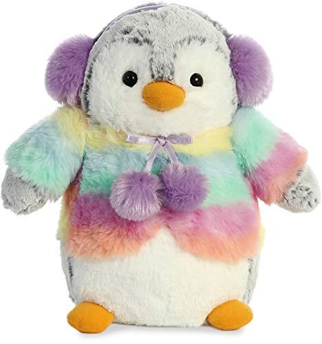 Aurora Pompom Penguin Rainbow Lilac