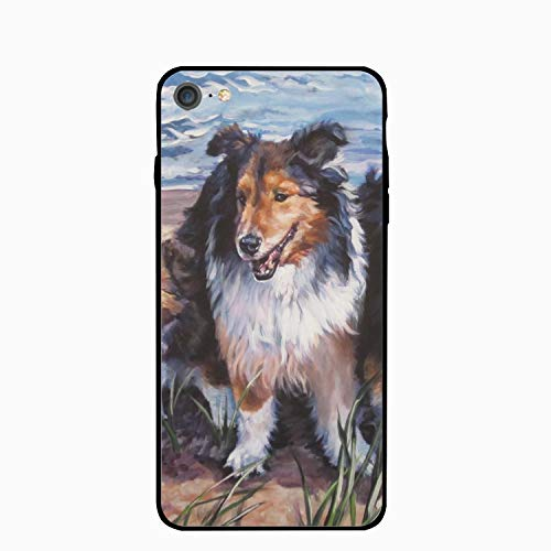 6s Case,Shetland Sheepdog Family for Girls Women Best Protective Rubber Slim Fit Thin Phone Case Compatible for iPhone 6/iPhone 6s ()