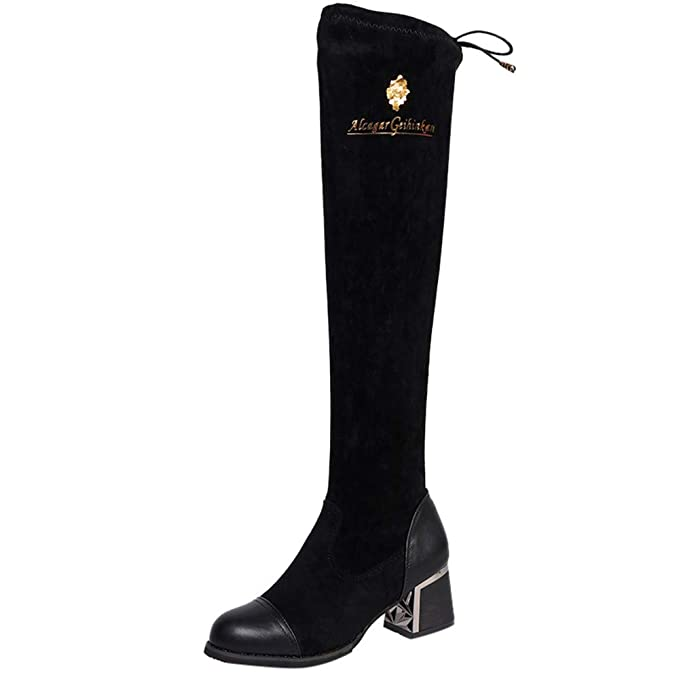 4d2394cdbe1 DENER❤ Women Winter Thigh High Tall Boots