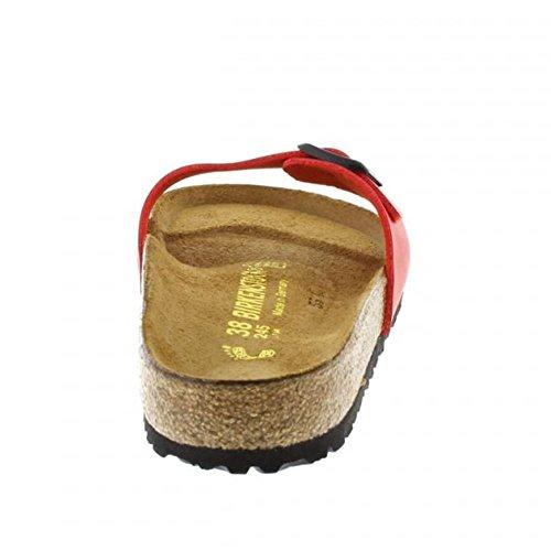 Birkenstock Madrid Red Cherry Womens Sandals Size 36 EU