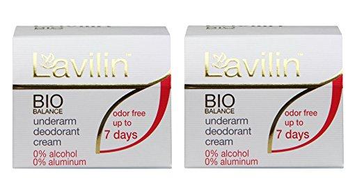 Lavilin Underarm Deodorant Cream - 0.44 oz - 2 pk