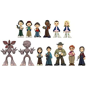 f88bbe4b87a Funko Mystery Mini  Stranger Things Mini Toy Action Figure - 2 Piece BUNDLE