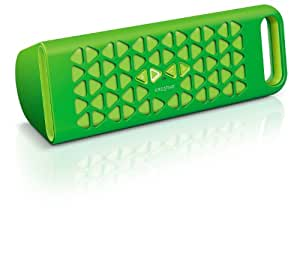 Creative MF8180 - Altavoz portátil (Bluetooth, NFC, 3.5 mm, Micro-USB), verde