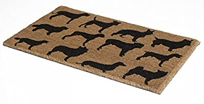 "Non Slip Durable Coir Doormat 18"" x 30"" x 0.60"""