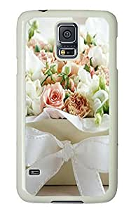 Samsung S5 cases the best Flower Box PC White Custom Samsung Galaxy S5 Case Cover