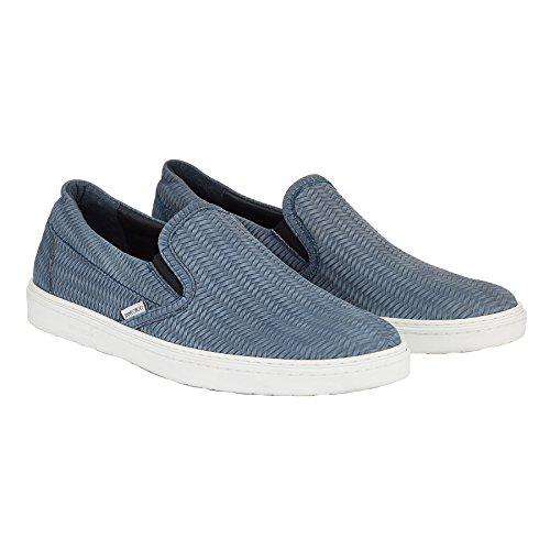 Jimmy Choo Slip On Sneakers Uomo GROVEWXBJEA Pelle Blu