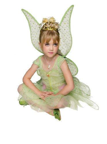 Rubies Green Woodland Fairy Deluxe Costume, Toddler Size