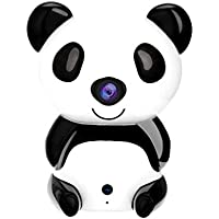 IP Camera,OUTAD 720P HD Smart Panda Wi-Fi Network Wireless IP Security Camera/ for Indoor Home Security Surveillance Video Night Vision Baby/Pet Monitor