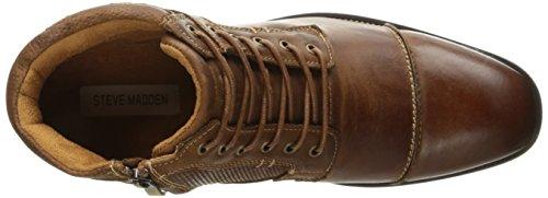 Steve Madden Men's Jensunn Boot, Dark Tan, 10 M US