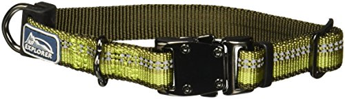 K9 Explorer Reflective Adjustable Dog Collar | 5/8-Inch, X-S