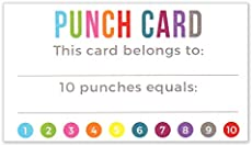 Punch Card Templates For Microsoft Word Geccetackletartsco - Free editable punch card template