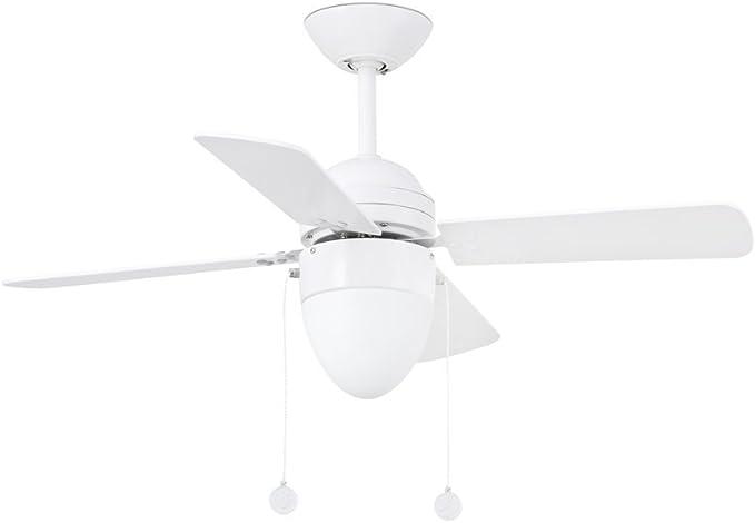 Ventilador de techo Sensation con luz blanco: Amazon.es: Hogar