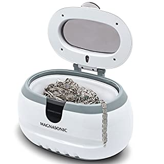 Magnasonic Professional Ultrasonic Jewelry Cleaner Machine for Cleaning Eyeglasses, Watches, Rings, Necklaces, Coins, Razors, Dentures, Combs, Tools, Parts, Instruments (CD2800)