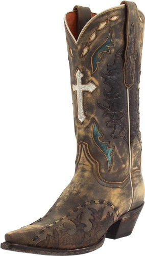 Amazon.com | Dan Post Women's Anthem Western Boot | Mid-Calf