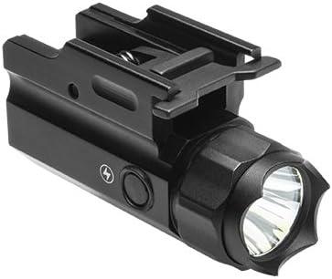 M1SURPLUS Tactical LED Strobe Flashlight Kit with Quick Detach Mounting Deck – Fits Remington RP9 Beretta APX M9A1 M9A3 92A1 96A1 Handgun Pistols