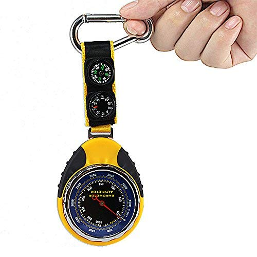 Digital Watches Objective Sunroad Sr108s Mini Lcd Digital Pedometer Orange Altimeter Barometer Compass Thermometer Weather External Carabiner Waterproof Demand Exceeding Supply Men's Watches