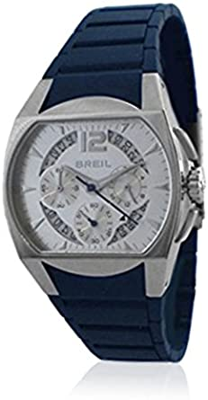 Breil Reloj analogico para Hombre de Cuarzo con Correa en Caucho BW0114