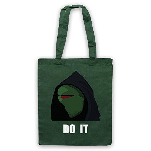 Kermit Do It Meme Bolso Verde Oscuro