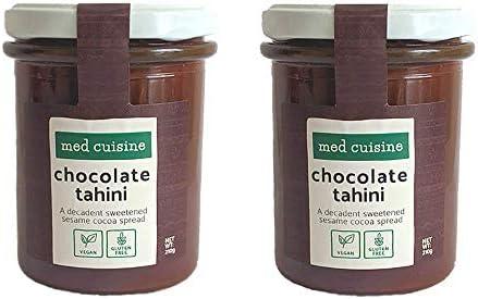 Med Cuisine Chocolate Tahini Spread - Pasta De Sésamo Con Cacao En ...